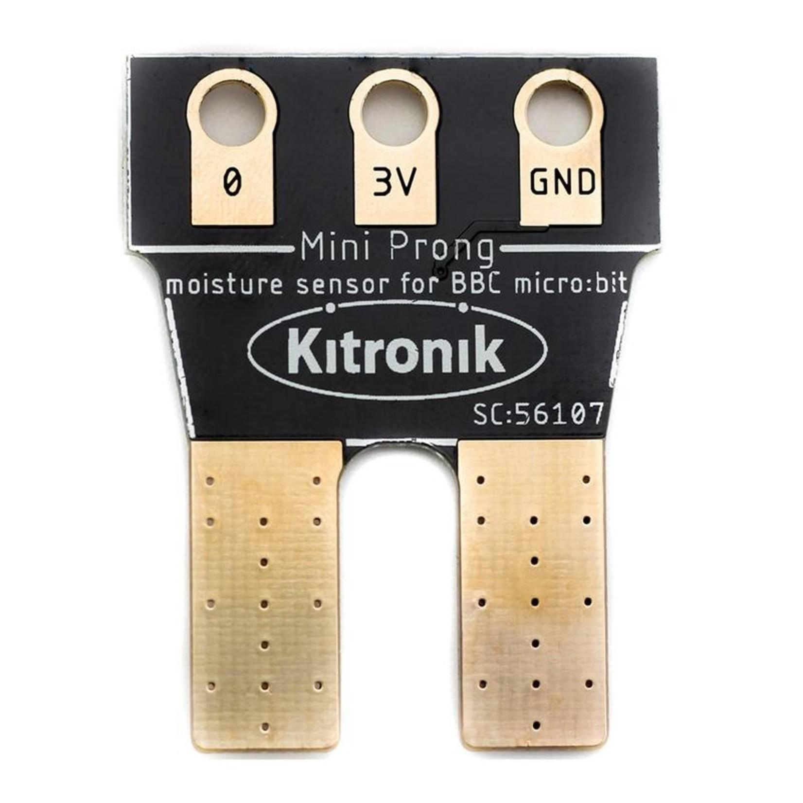 Kitronik 'Mini' Prong Soil Moisture Sensor for BBC micro:bit