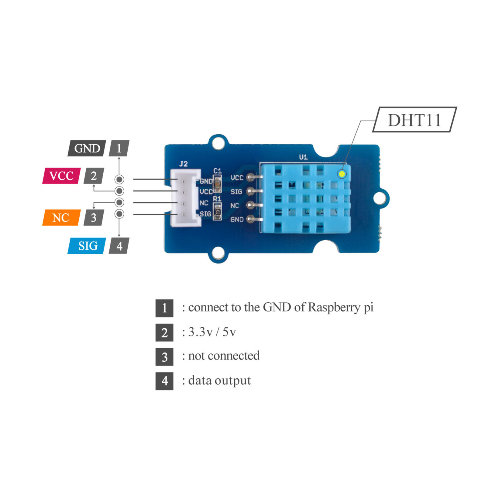 Seeed Grove - Temp&Humi Sensor
