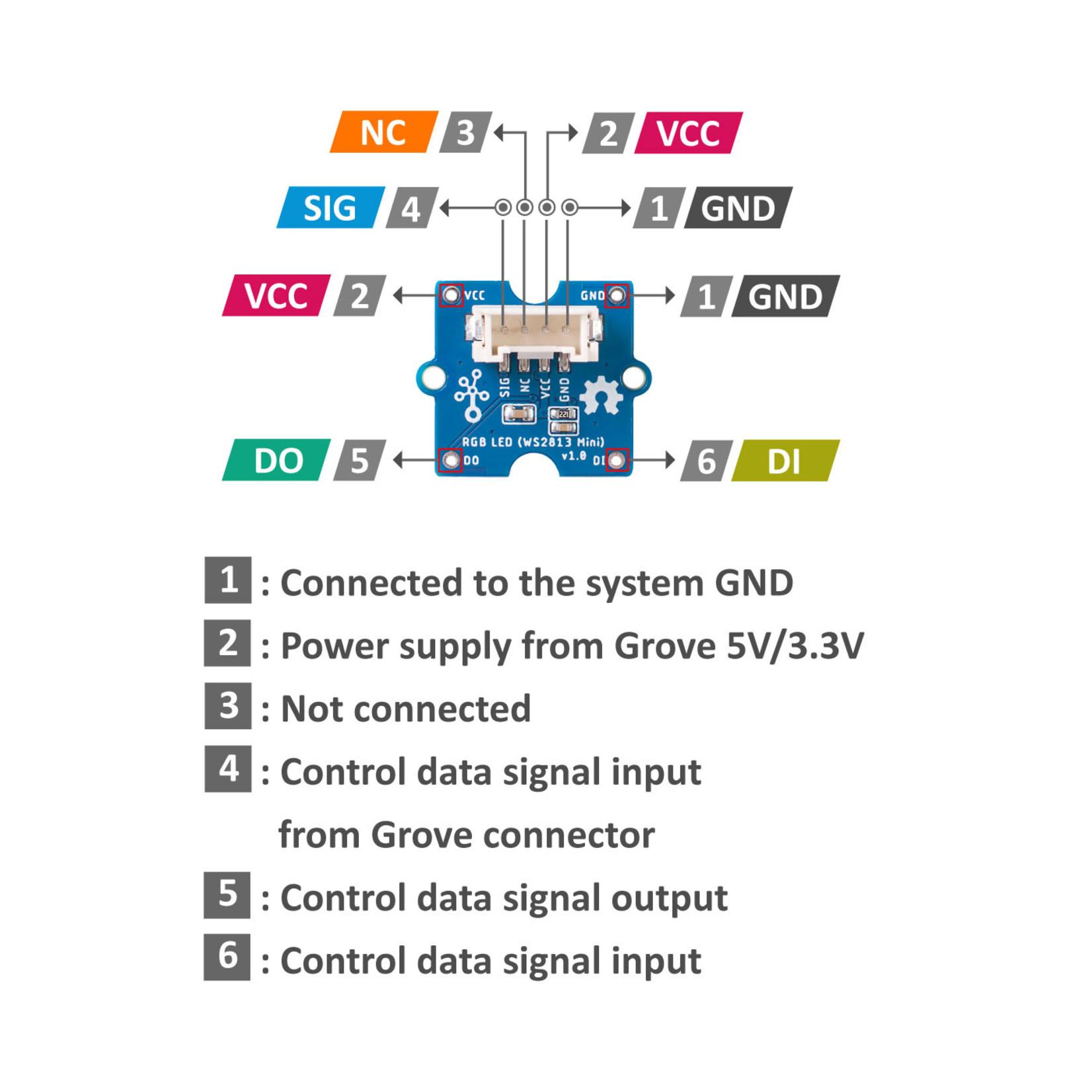 Seeed Grove - RGB LED (WS2813 Mini)