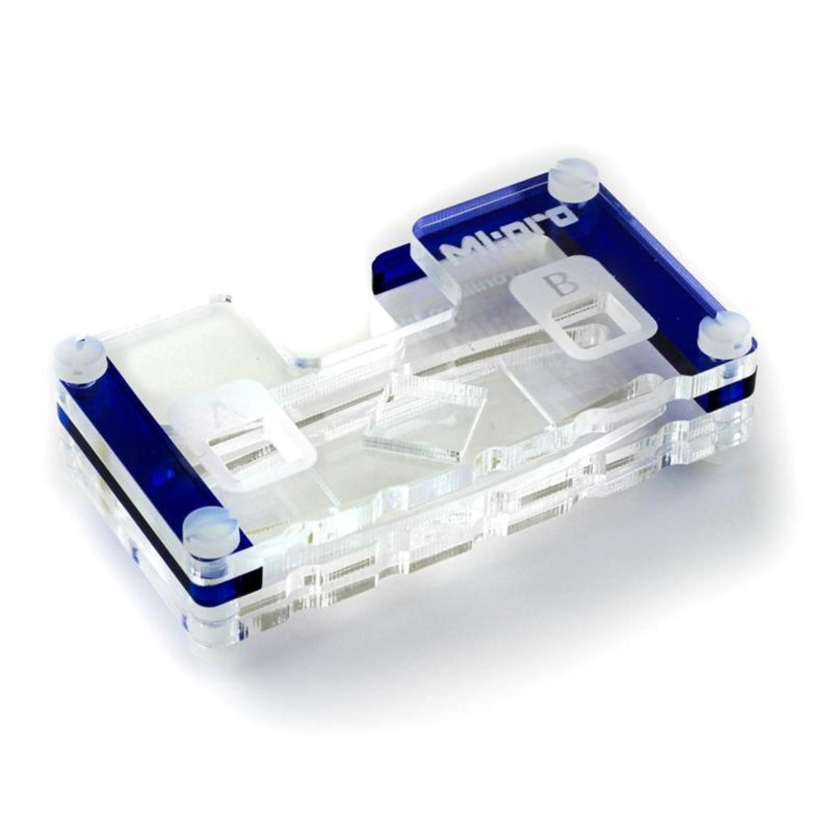 Kitronik MI:pro Protector Case for the BBC micro:bit V1 & V2 - Blue