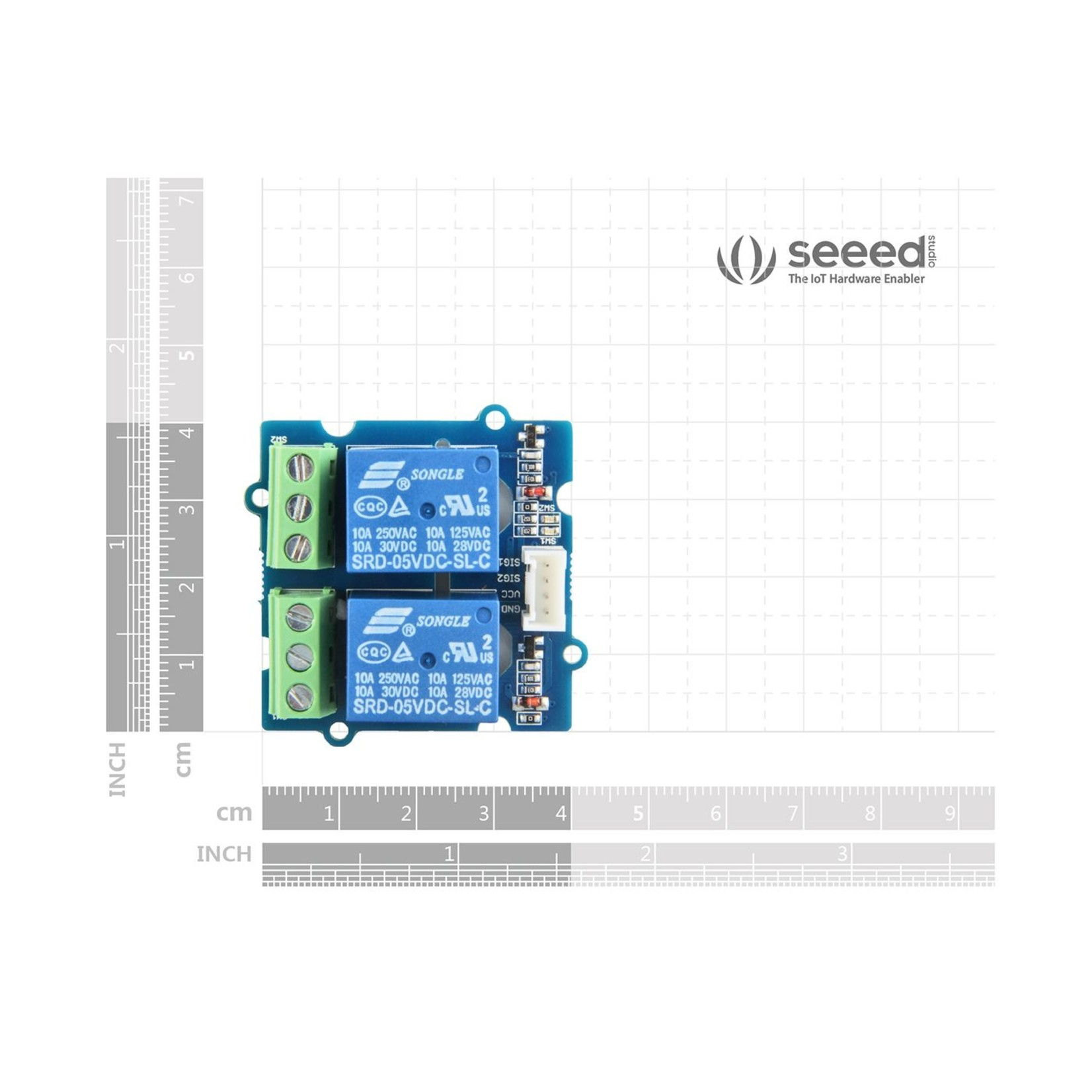 Seeed Grove - 2-Channel SPDT Relay