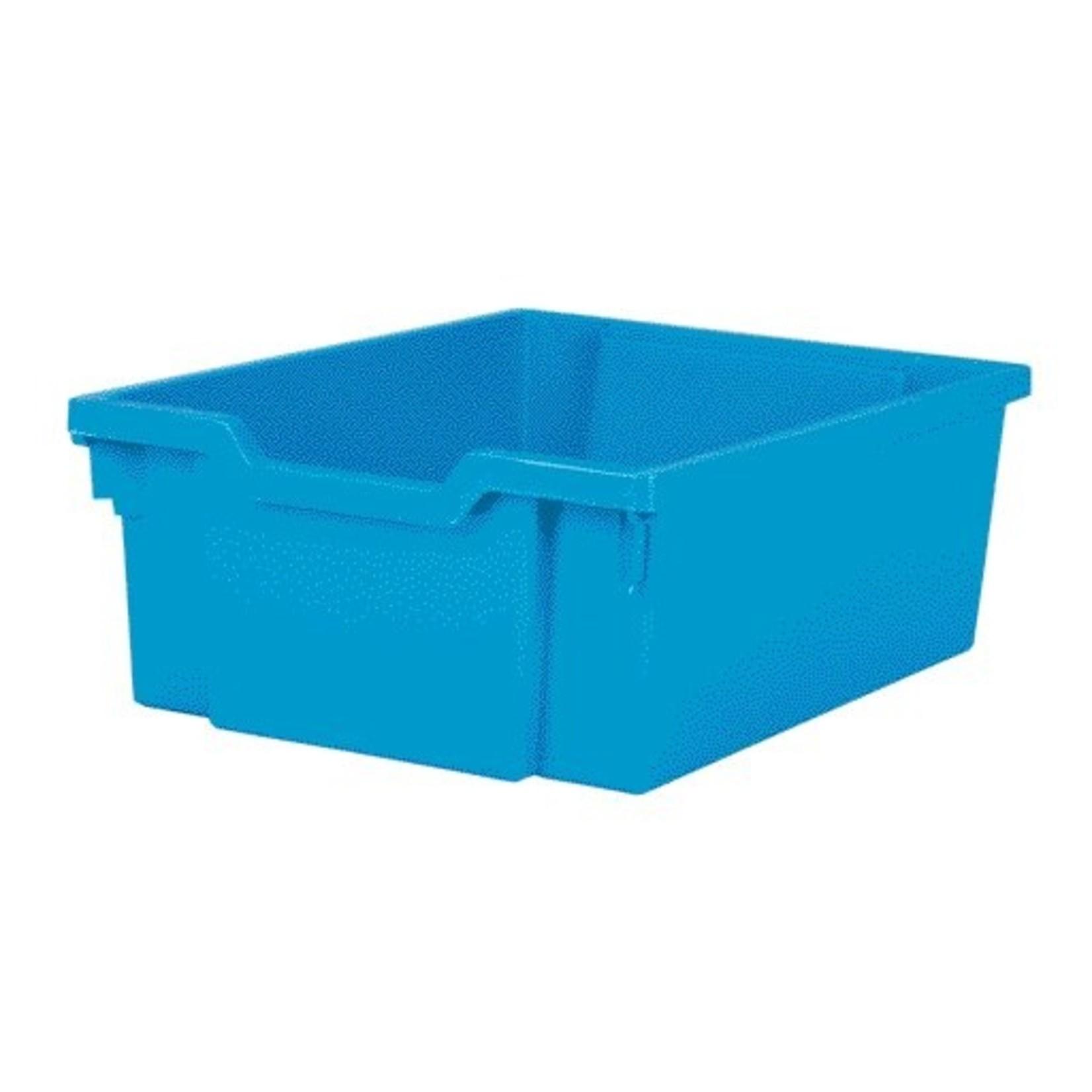 Gratnells Deep F2 Tray Cyan Blue