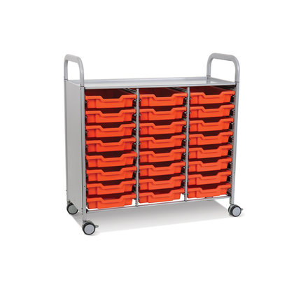 Gratnells Callero Plus Treble Column Trolley Set
