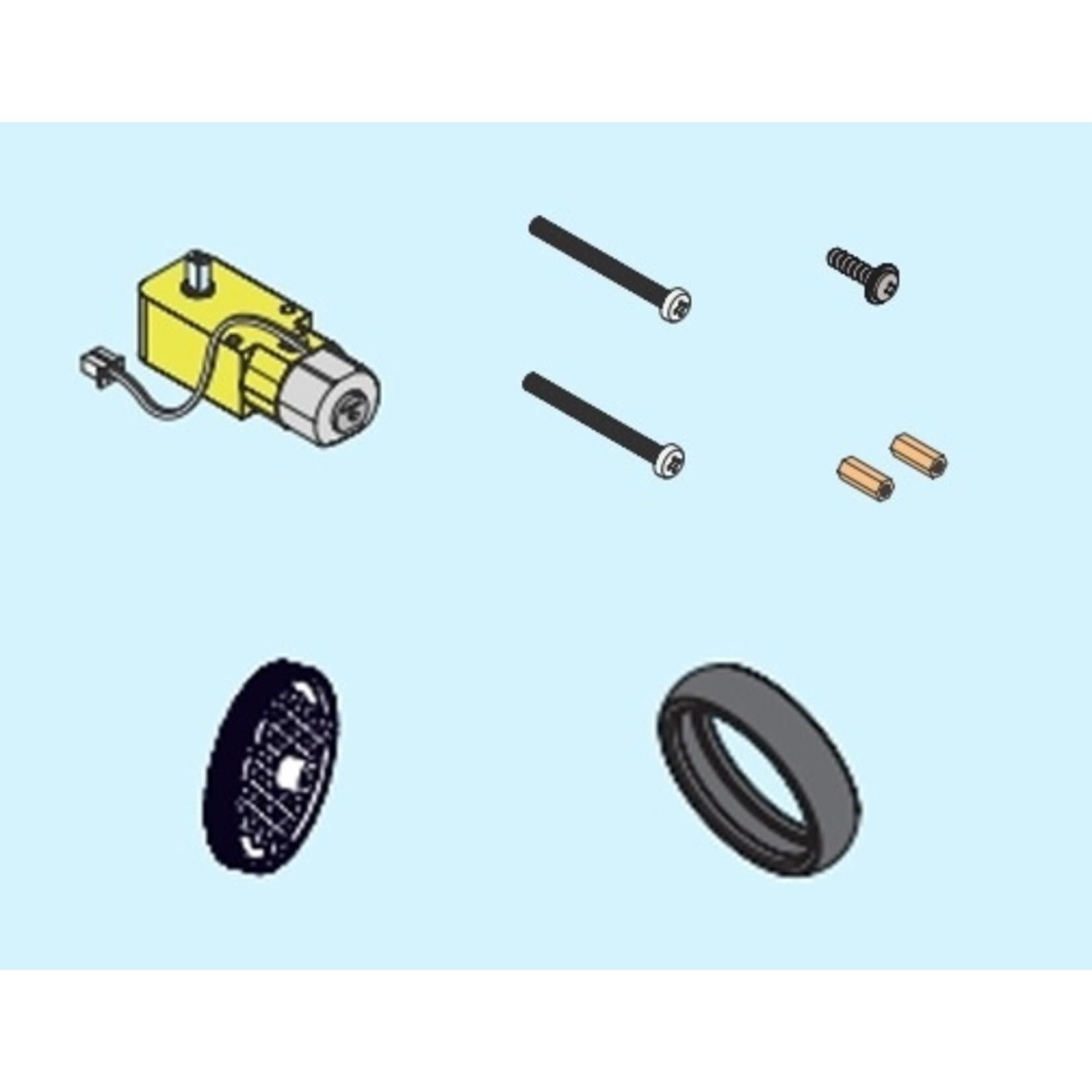 makeblock mBuild Double-Shaft Motor Package