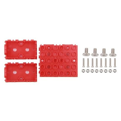 Seeed Grove - Red Wrapper 1*2 (4-pack)
