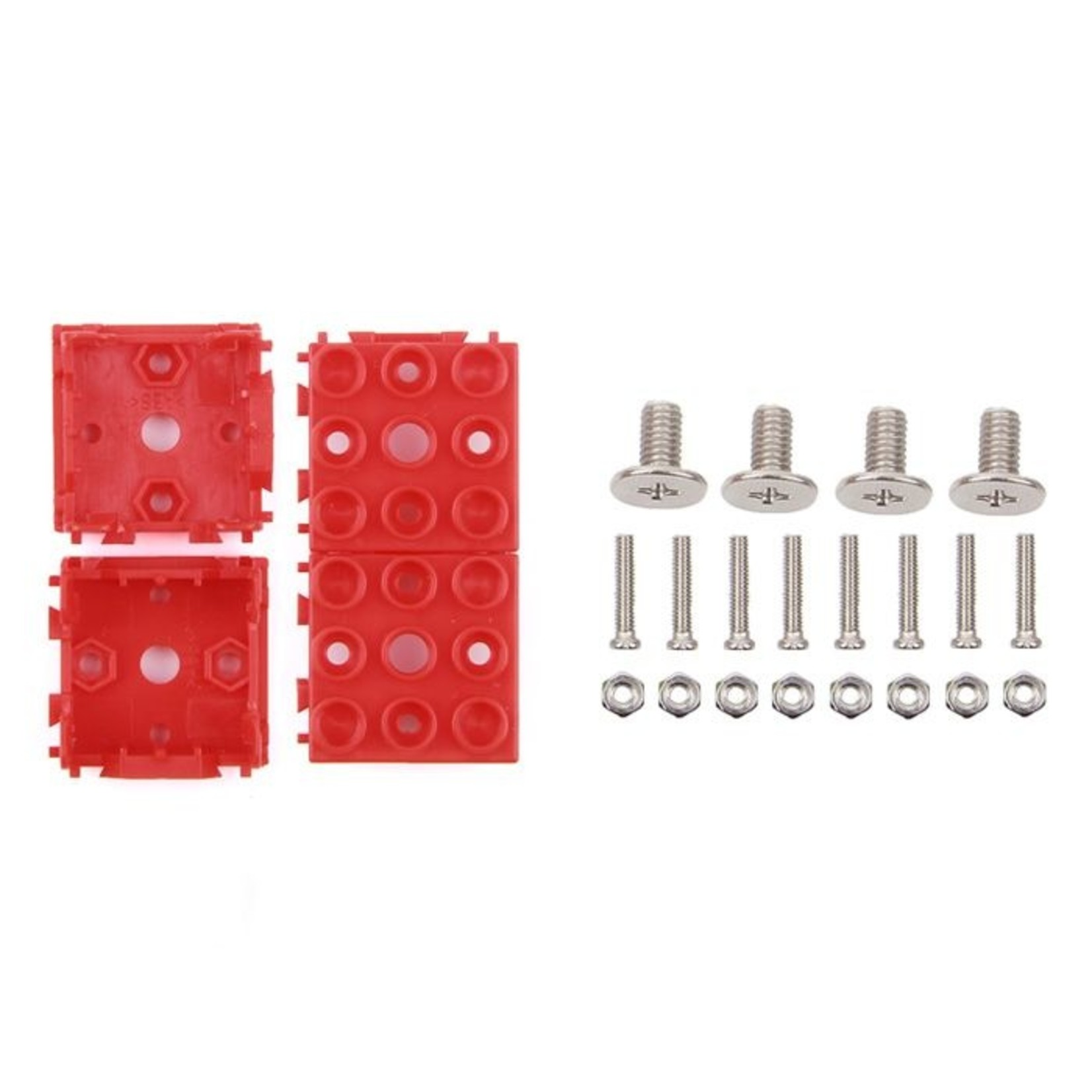 Seeed Grove - Red Wrapper 1*1 (4-pack)
