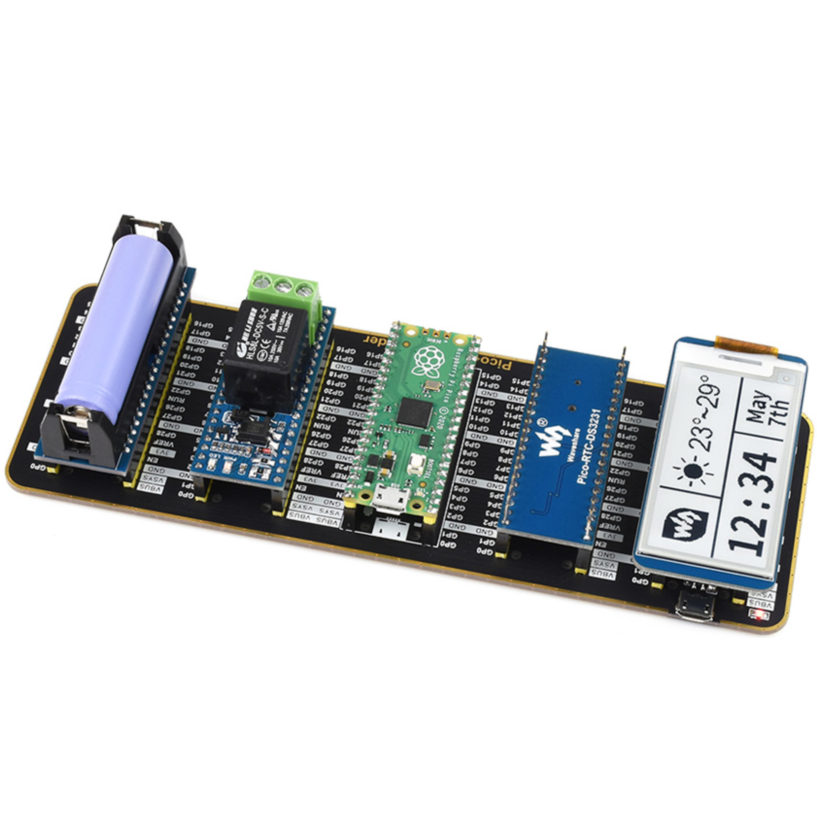 Seeed Quad GPIO Expander for Raspberry Pi Pico
