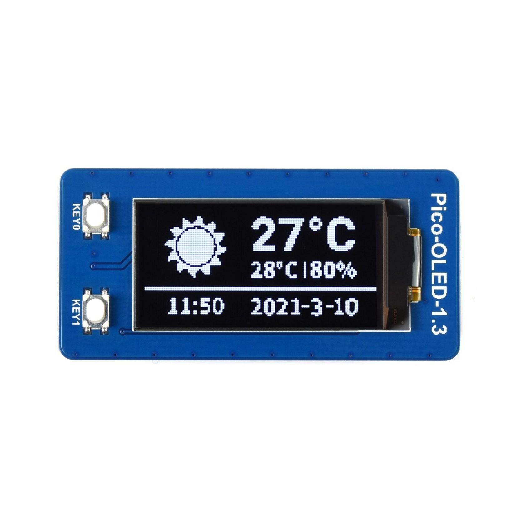 Seeed 1.3inch OLED Display Module for Raspberry Pi Pico