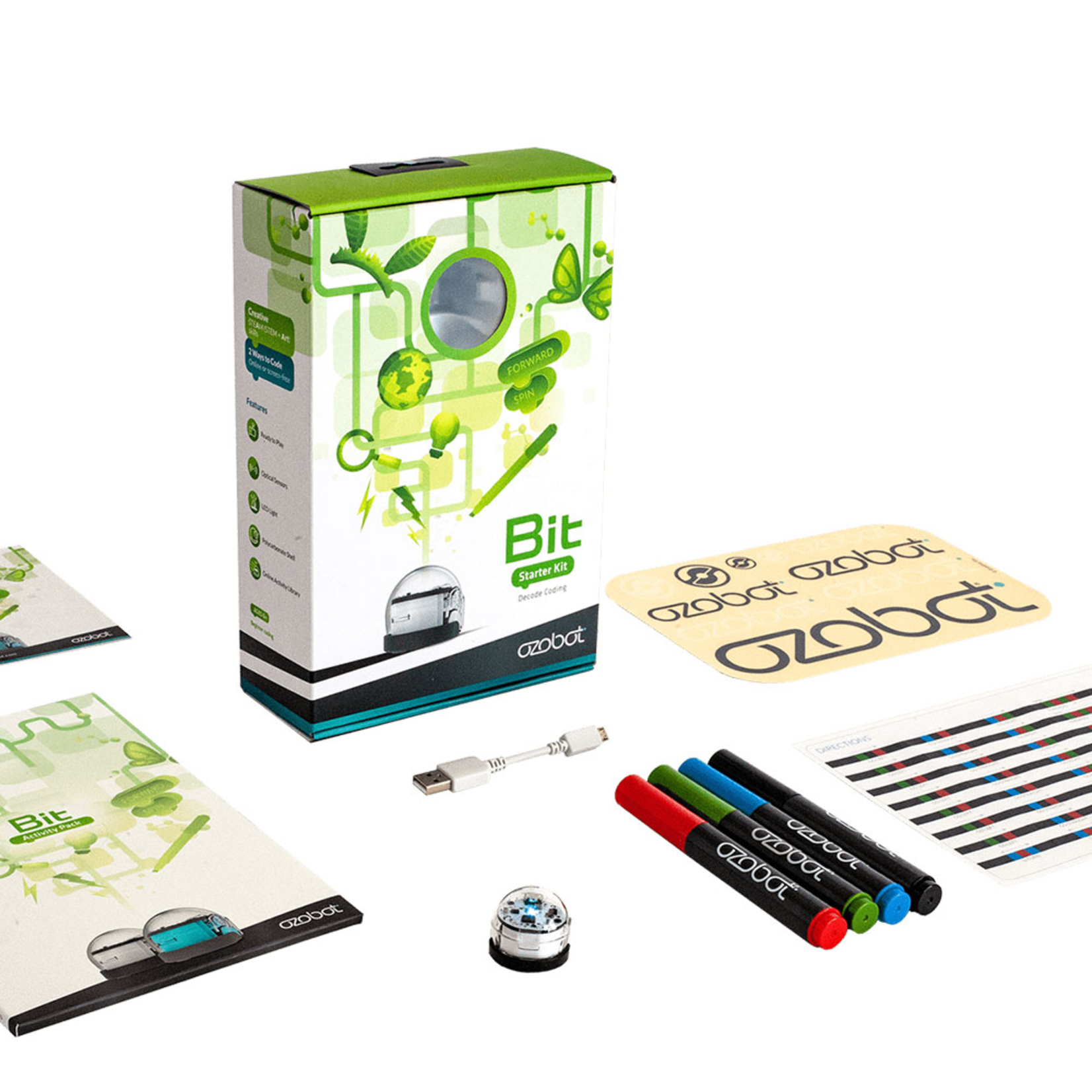 ozobot Bit 2.0 Starter Pack Blanc
