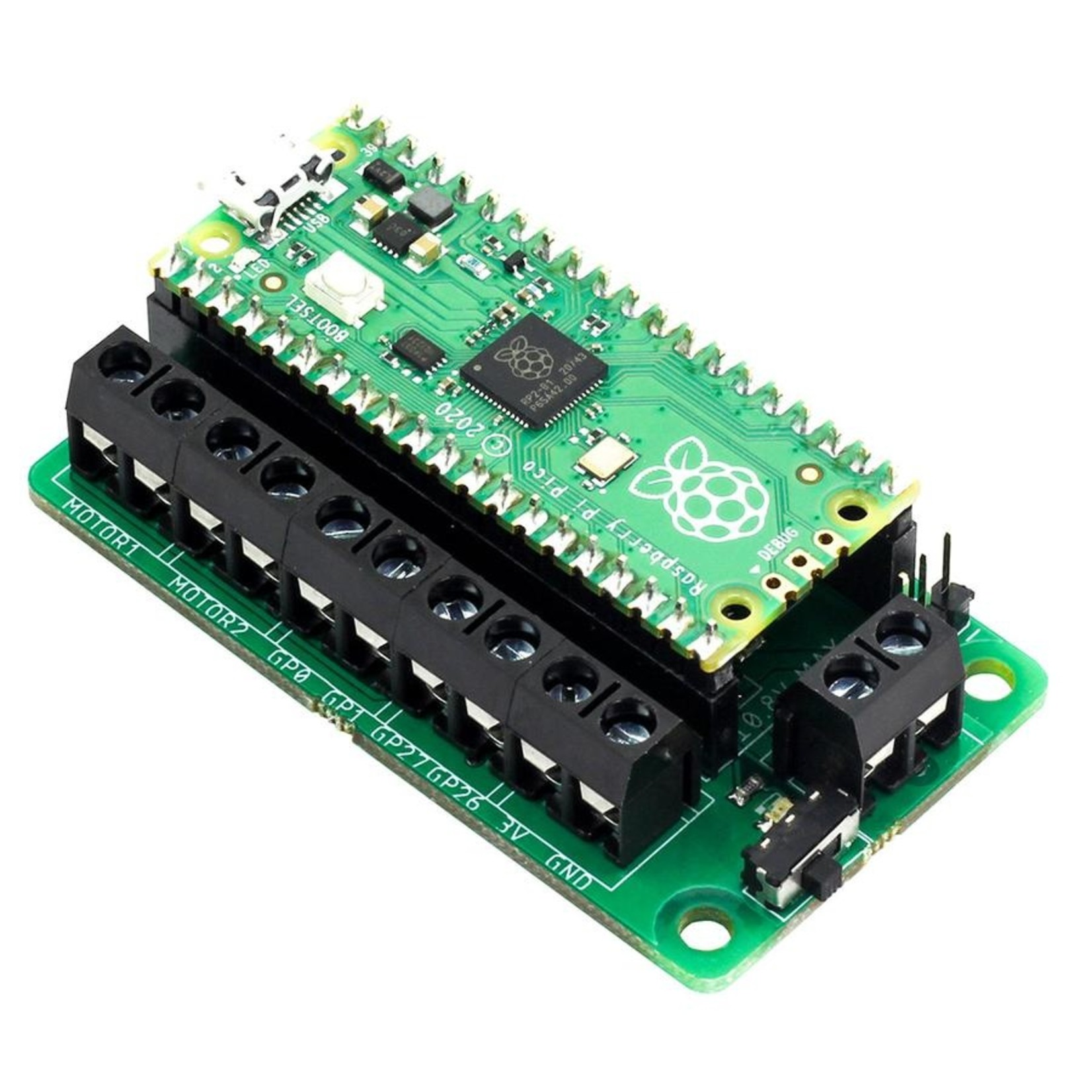 Kitronik Motor Driver Board for Raspberry Pi Pico