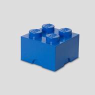 Storage box LEGO brick 2x2 blue