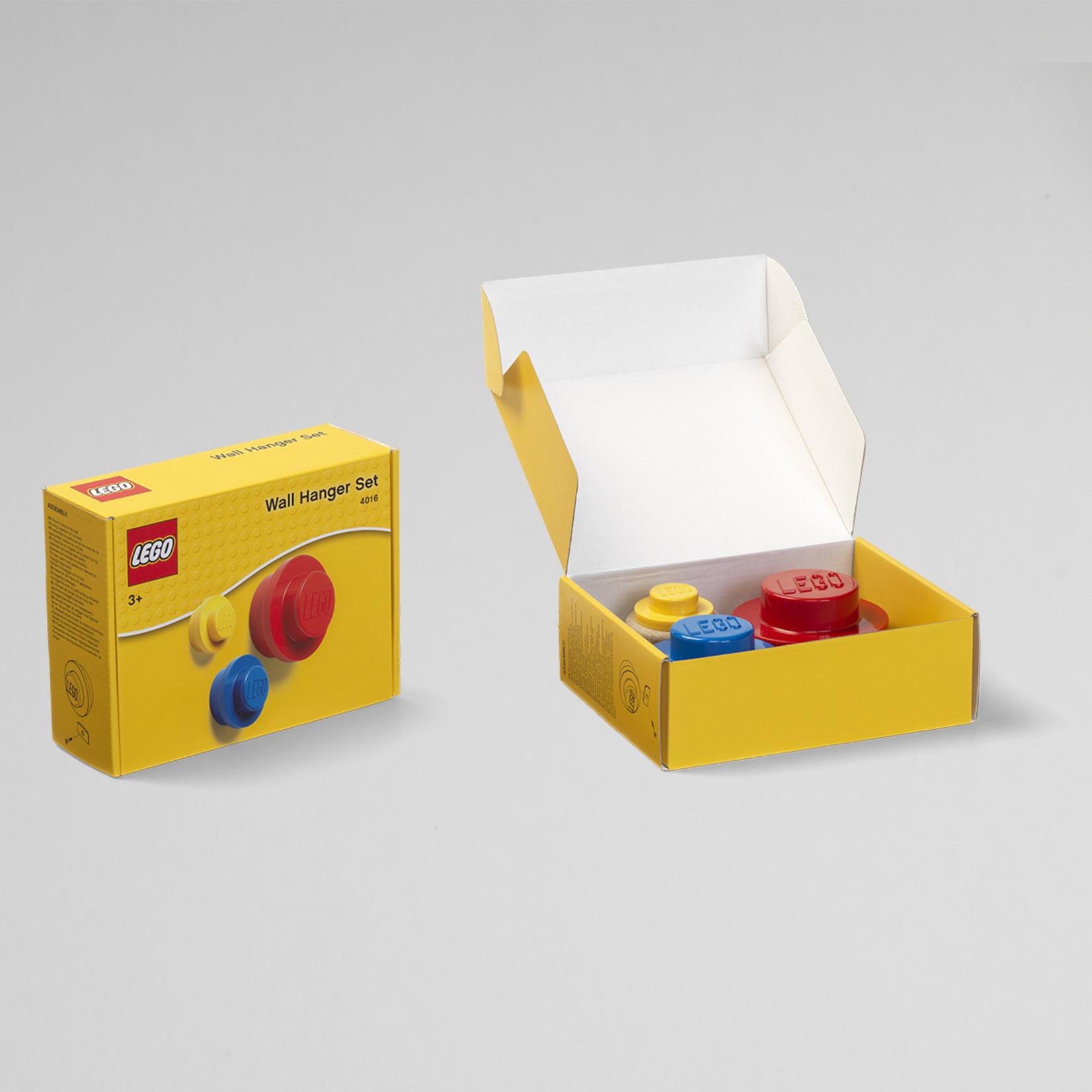 LEGO WANDHANGER SET VAN 3