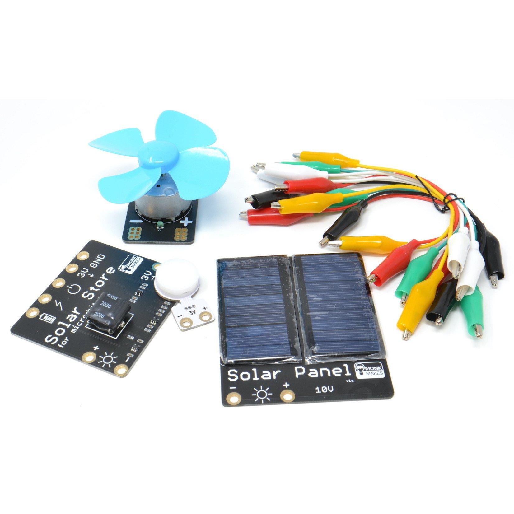 MonkMakes Solar Experimenters Kit for micro:bit