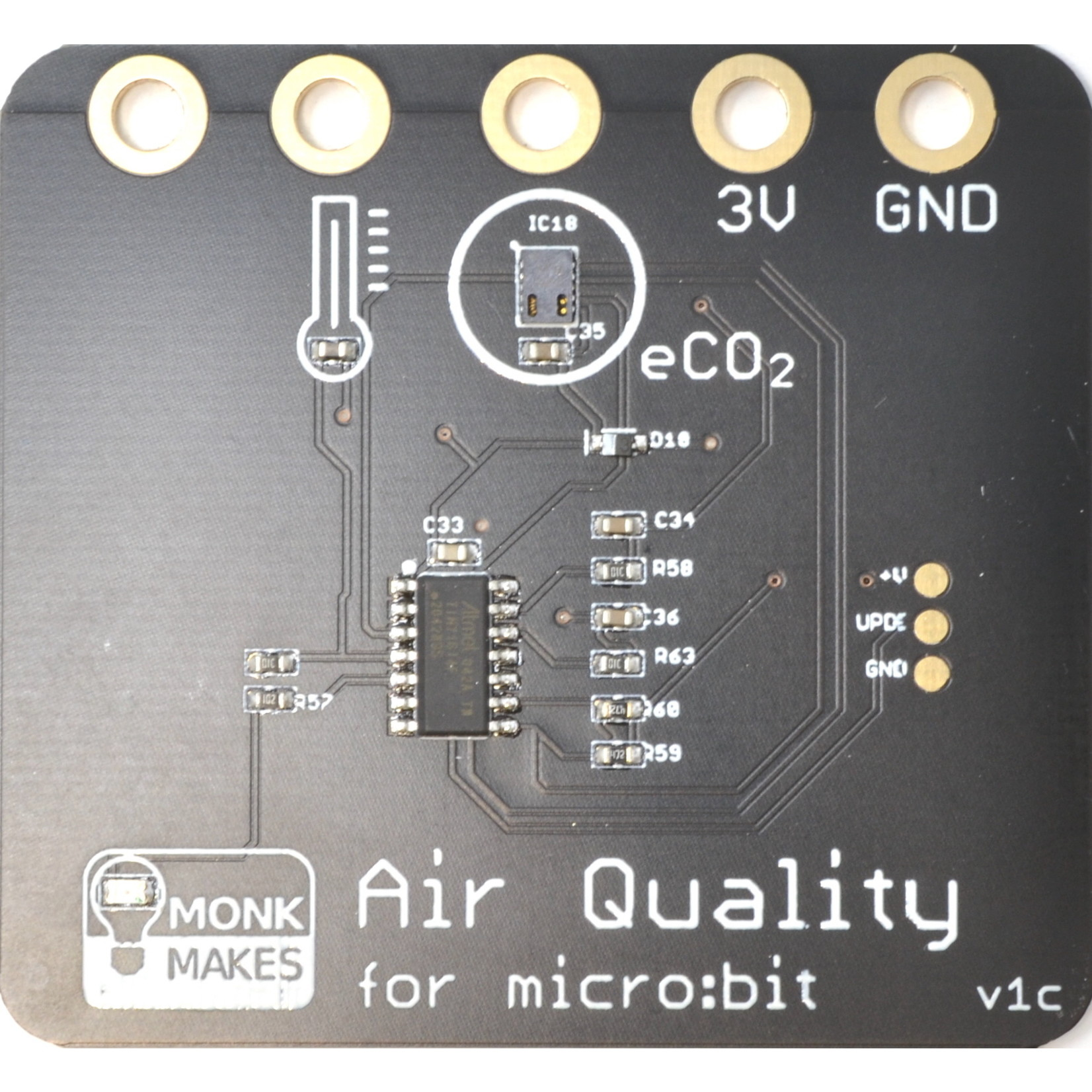 MonkMakes Air Quality Kit for micro:bit