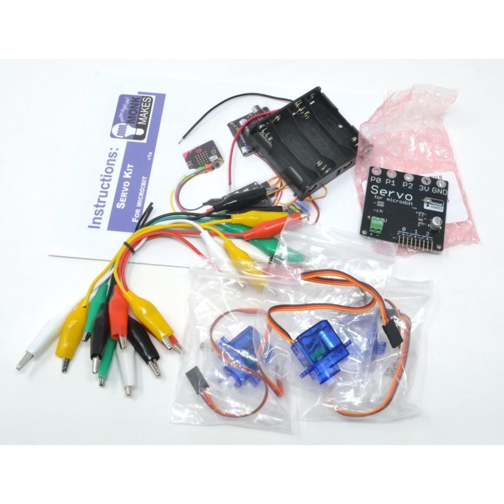 MonkMakes Servo Kit for micro:bit