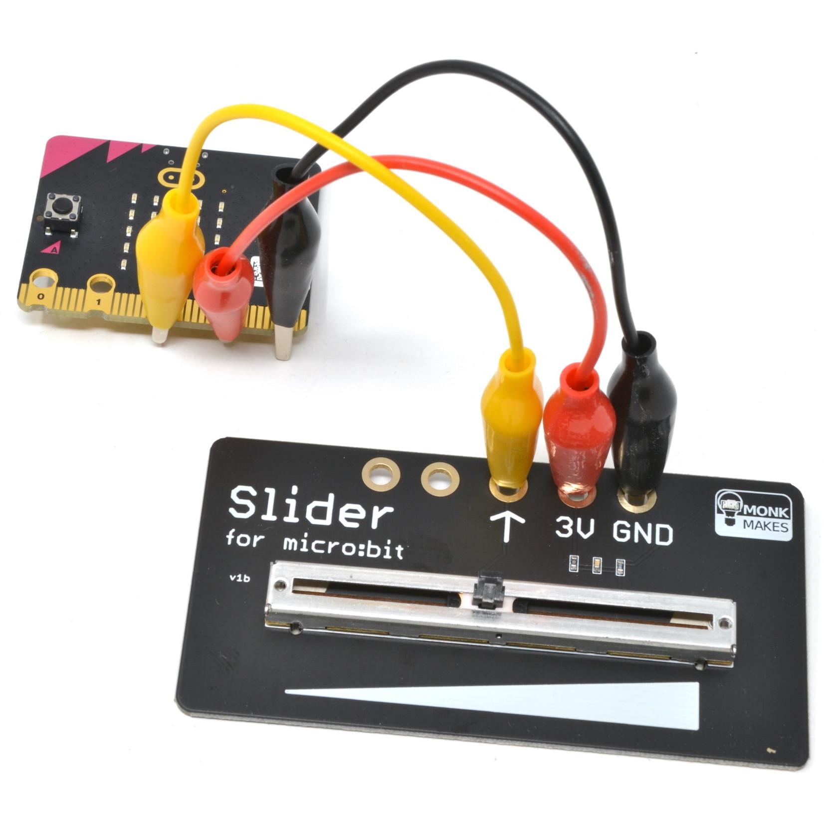 MonkMakes Slider for micro:bit