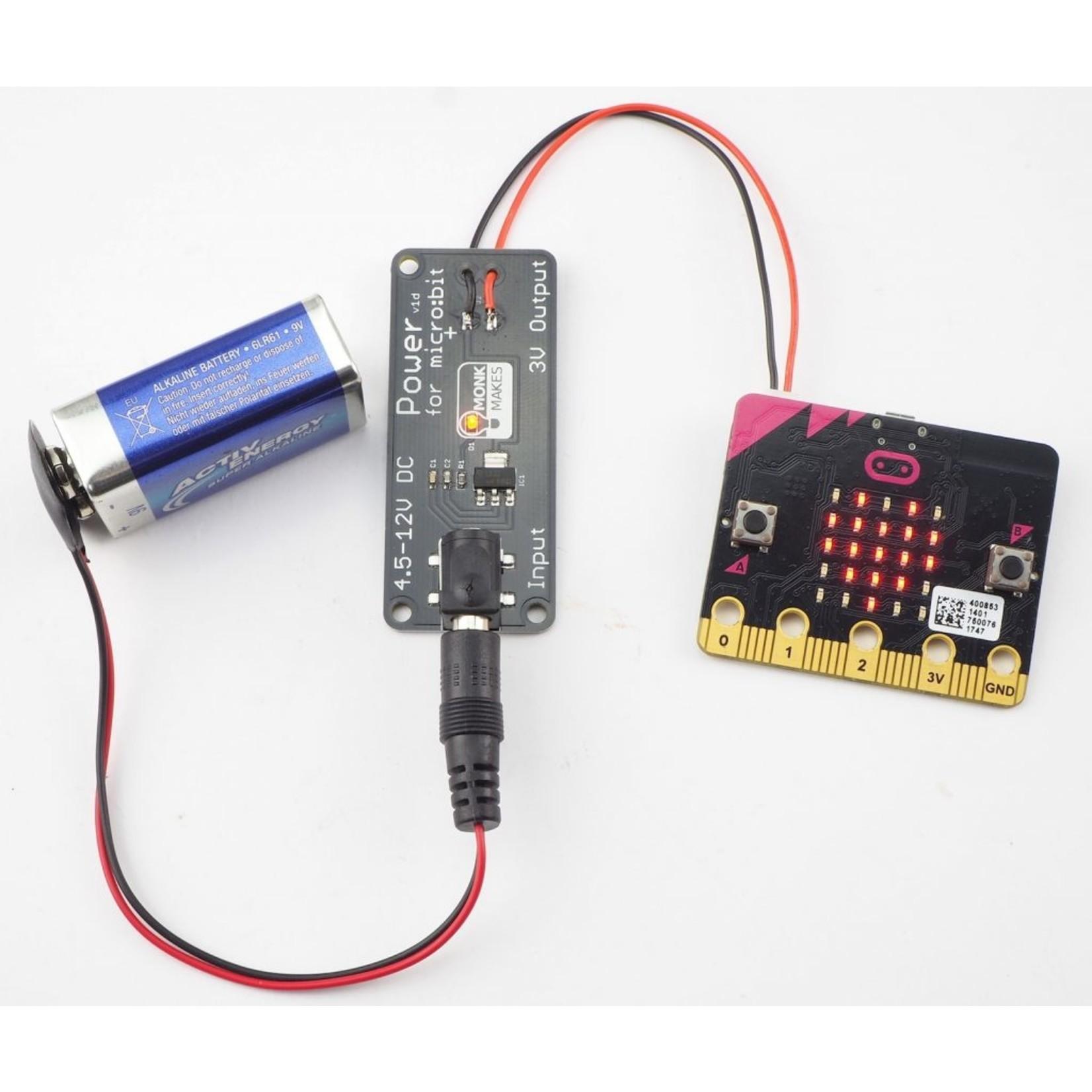 MonkMakes Power for micro:bit