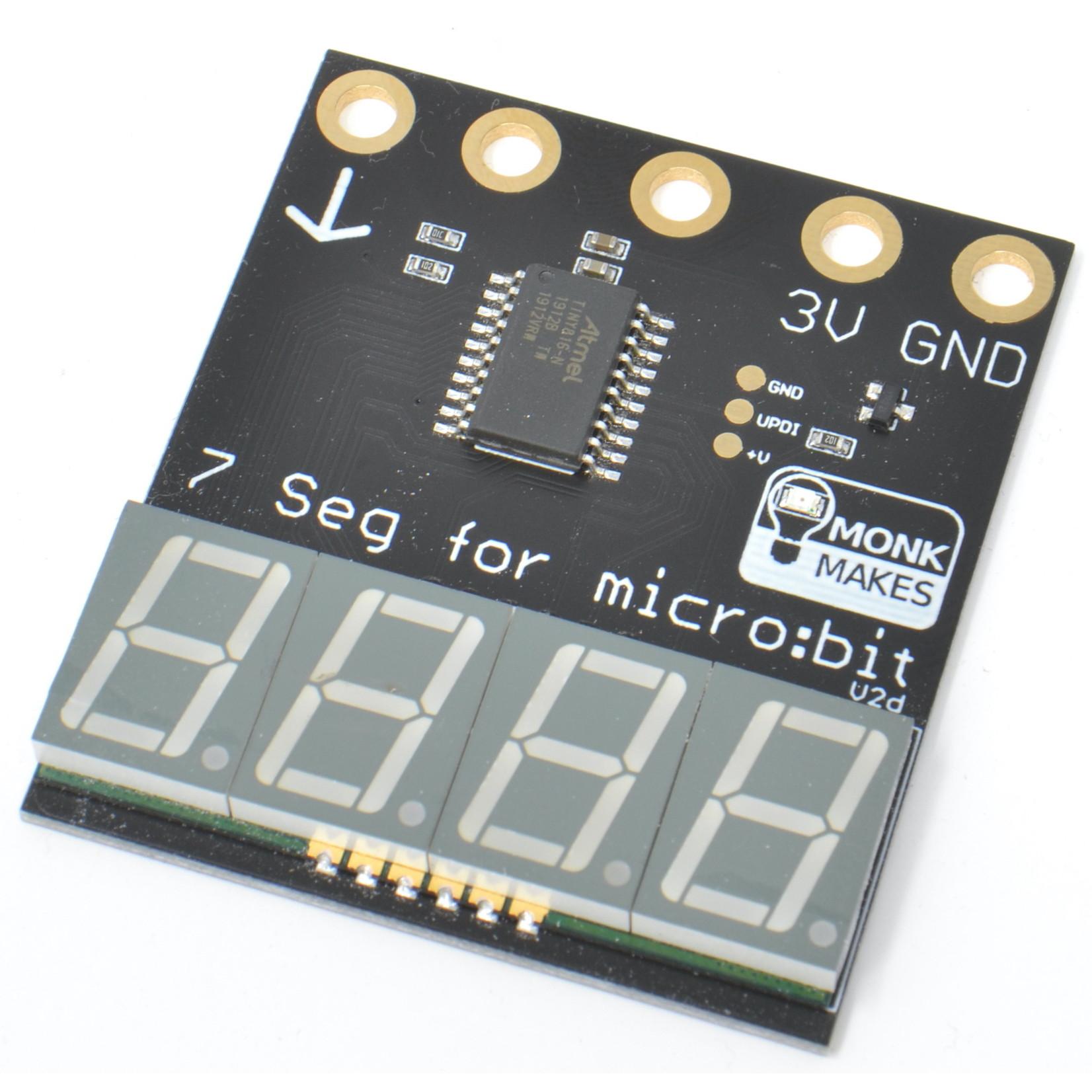 MonkMakes 7-segment for micro:bit