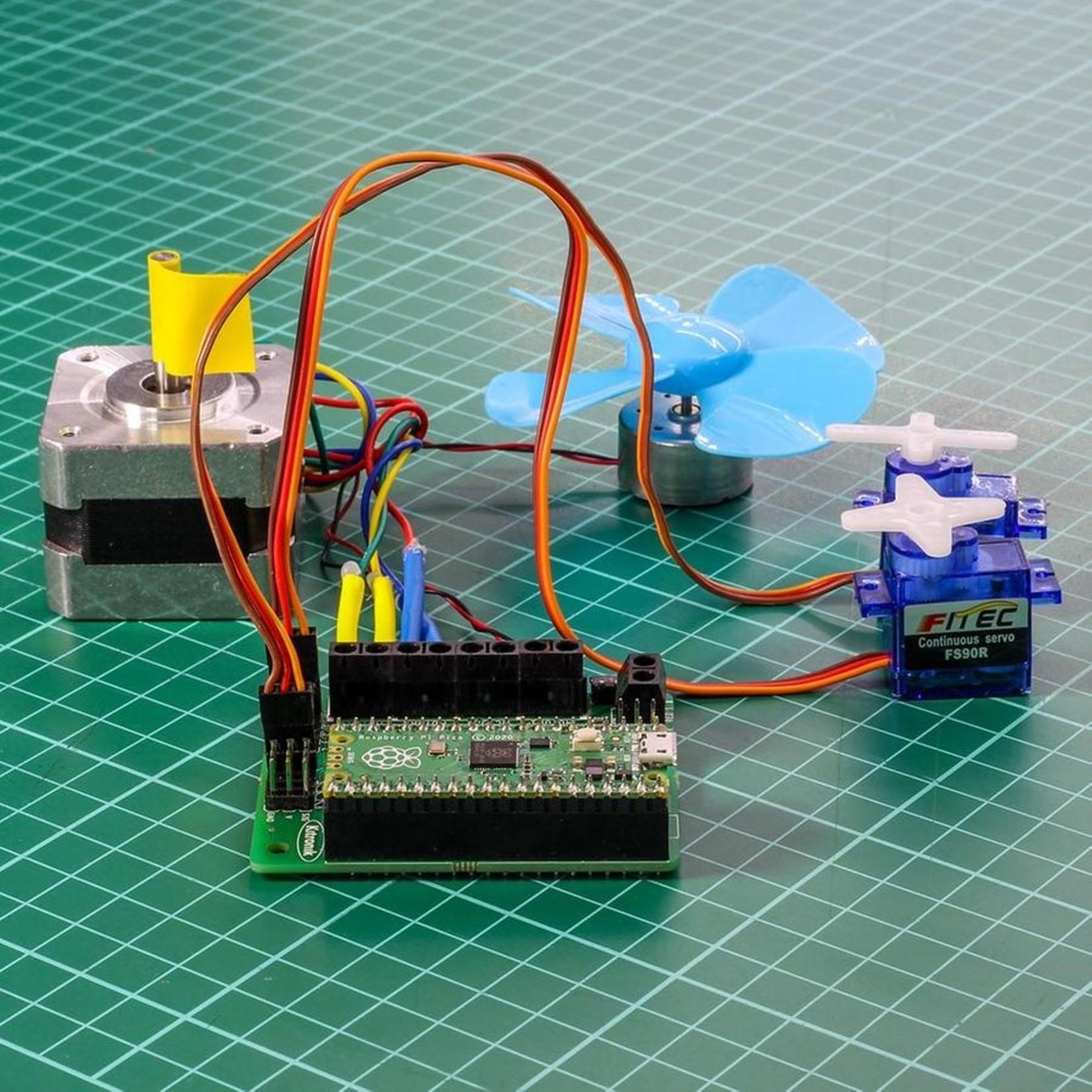 Kitronik Robotics Board for Raspberry Pi Pico