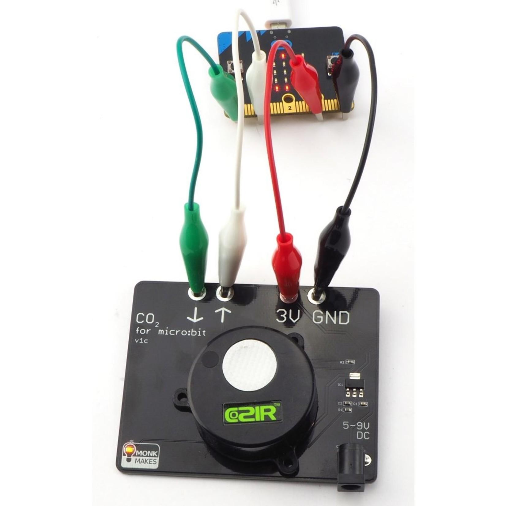 MonkMakes Capteur scientifique  de CO2 pour for micro:bit