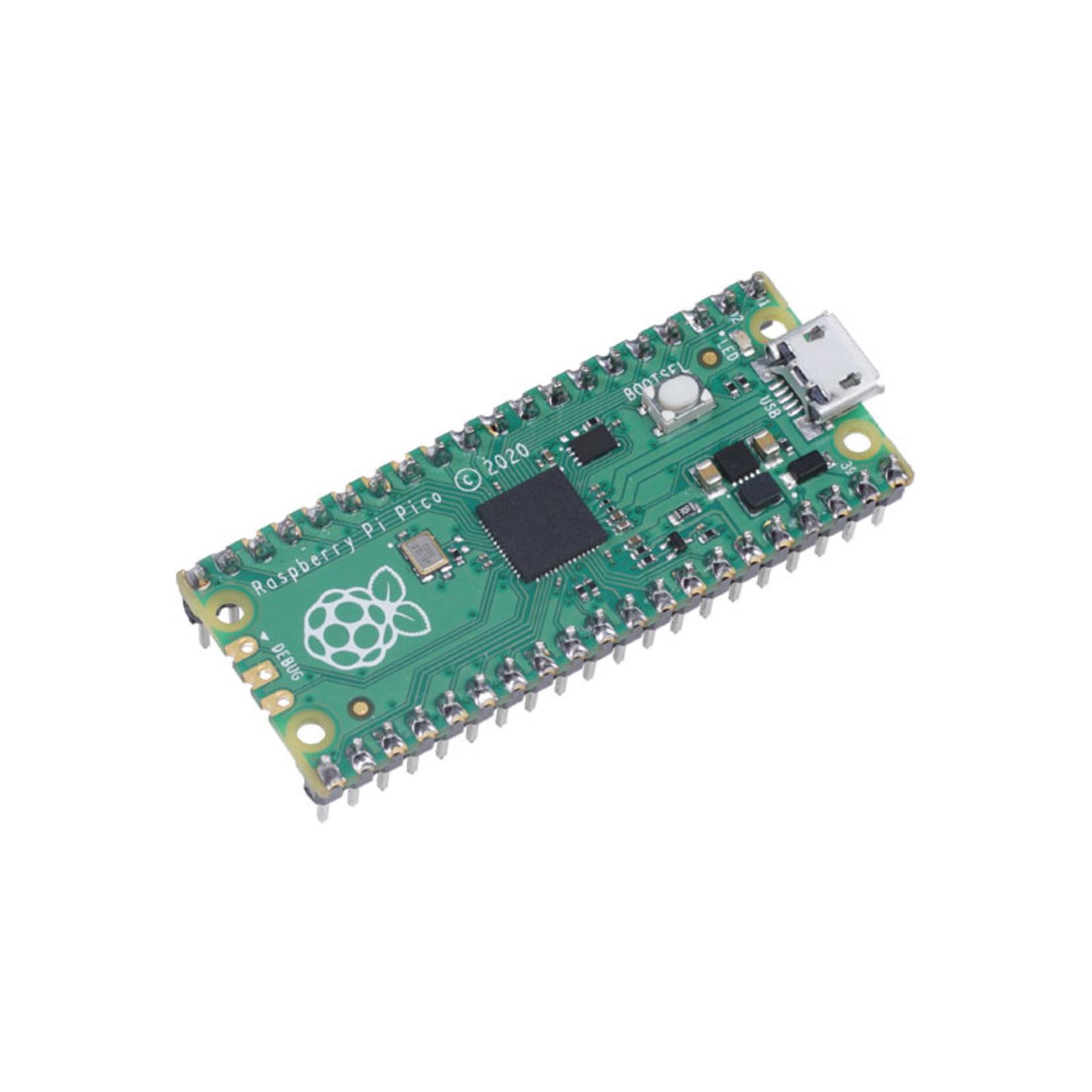Raspberry Pi Pico + Soldered Headers