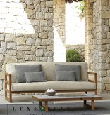 Talenti Talenti  Alabama Sofa Iroko-canvas