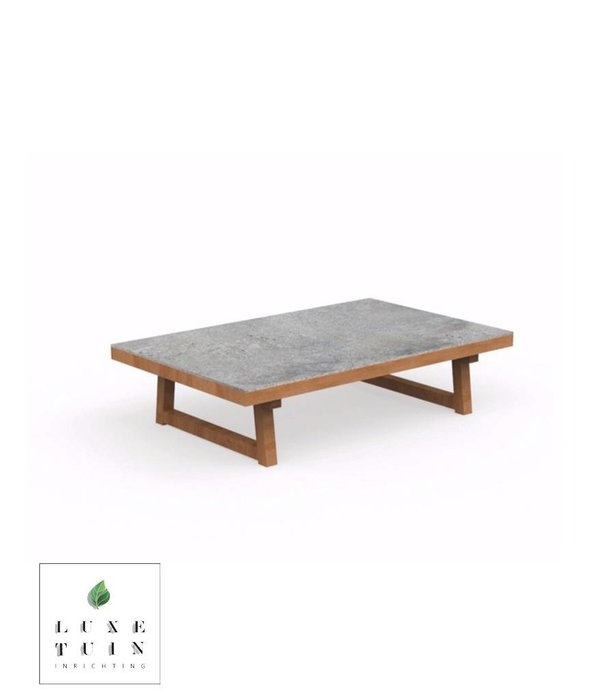 Talenti Talenti  Alabama Coffee table Iroko-cement
