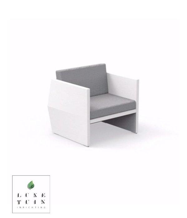 Talenti Talenti  Carlos Living armchair White-grey