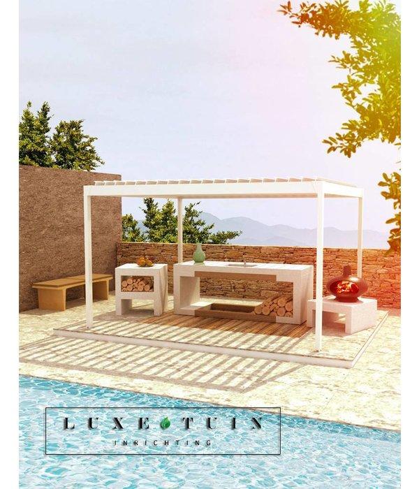 Luxe tuin inrichting - Buitenkeuken