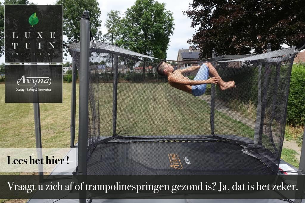 Trampoline springen, niet alleen voor kinderen!