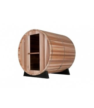Barrel Sauna Barrel Sauna Type 2.3 + Raam