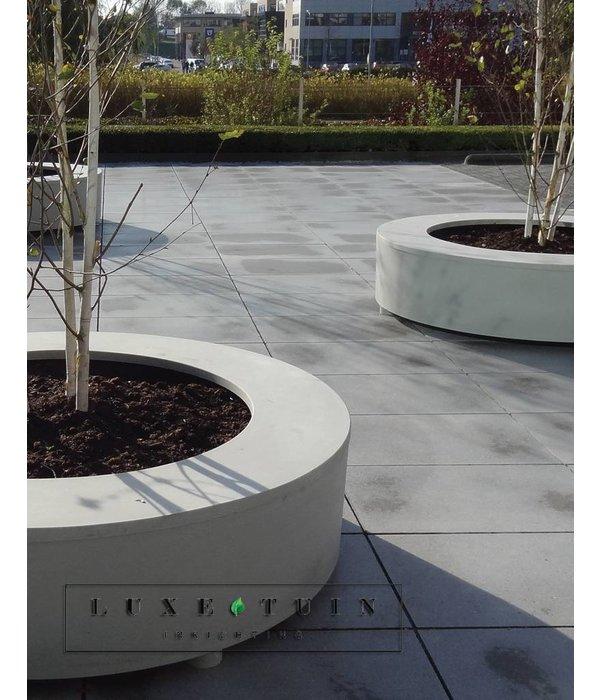 Potmaat Plantbank Polymeer beton Bodil