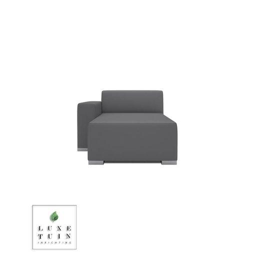 Design2Chill Block 90 hocker longchair 1 arm