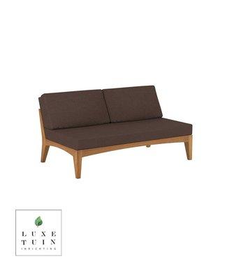 Royal Botania Lounge No Arm 2-Seat Module