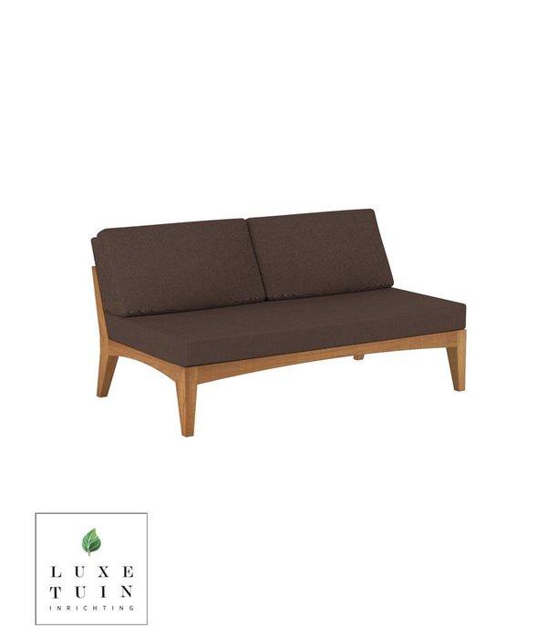 Royal Botania ZENHIT Lounge No Arm 2-Seat Module