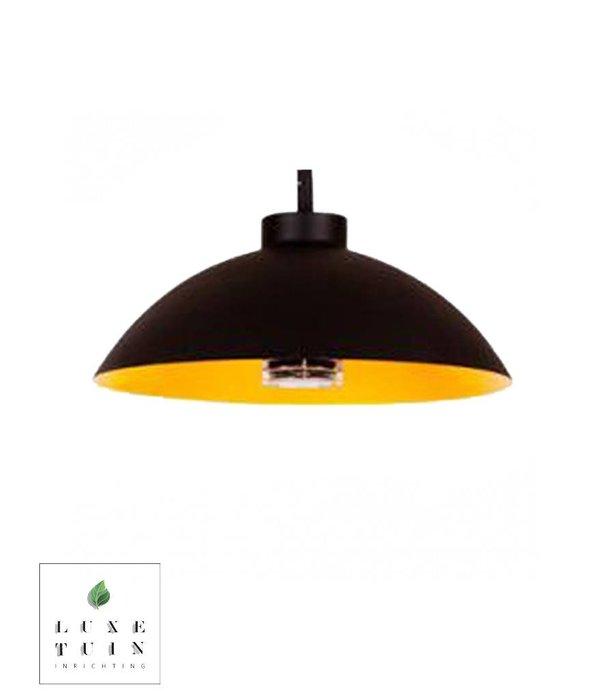 Heatsail Heatsail Dome pendelend zwart   incl. ophangsysteem