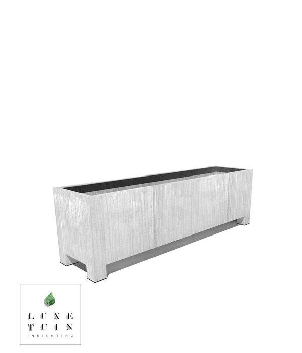 Potmaat Verzinkt staal plantenbak Vadim rechthoek met poten