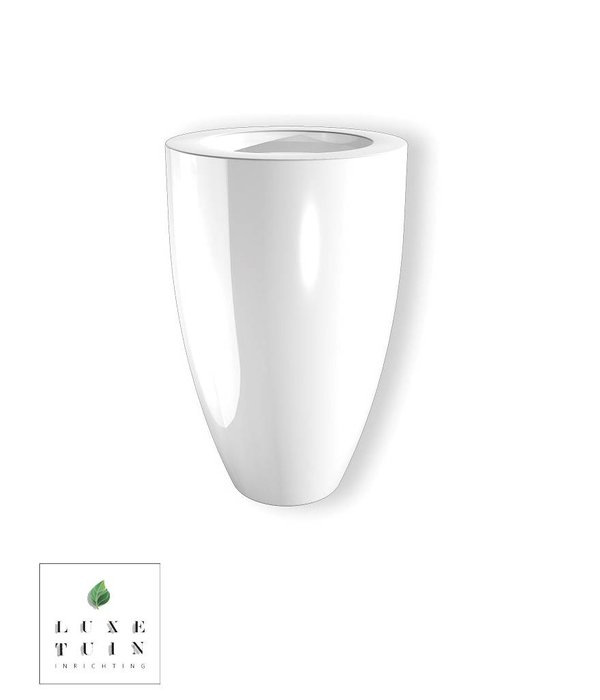 Potmaat Polyester Hoogglans plantenbak Buxus Canna