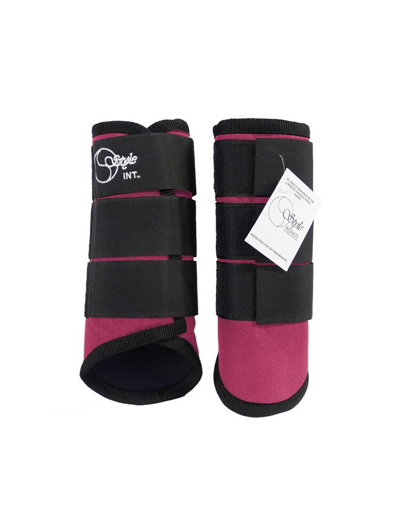 Style Carbon Cross boots - front