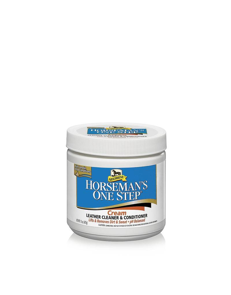 Absorbine Horseman one step cream Leather Cleaner & Conditioner
