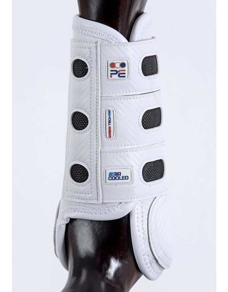 Premier Equine Carbon tech aircooled eventing boots voor