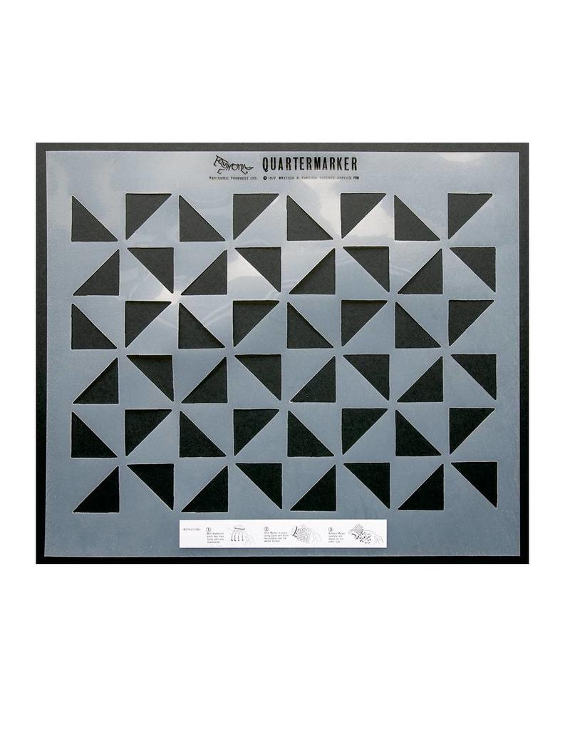 Equinomic Quartermarker Triangle