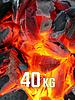 40kg BBQKontor Buchenholz-Grillkohle - Copy