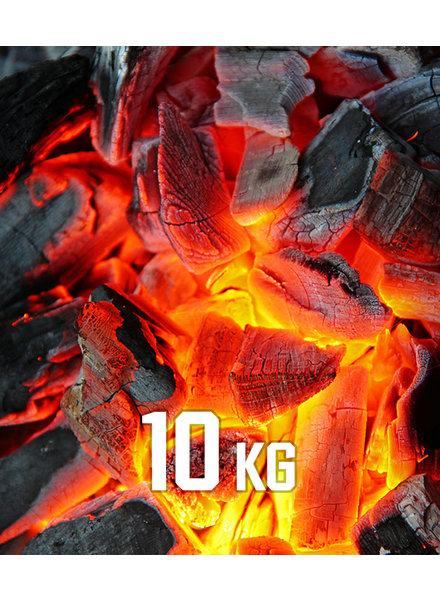 10kg BBQKontor Buchenholz-Grillkohle