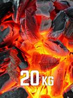 20kg BBQKontor Buchenholz-Grillkohle