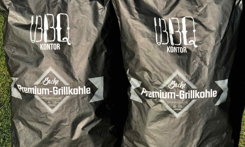 Premium Buchenholz Grillkohle