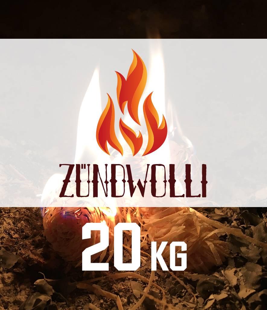 Zündwolli Premium-Anzünder 20kg Zündwolli Premium-Anzünder