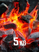 5kg BBQKontor Buchenholz-Grillkohle