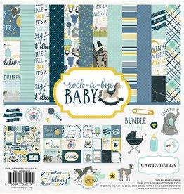 Carta Bella Carta Bella Rock-a-Bye Boy 12x12 Collection Kit