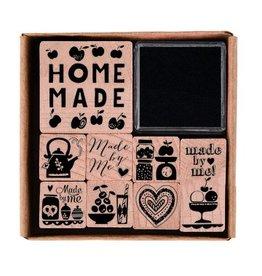 Paper Poetry Stempelset Homemade   8 Stempel